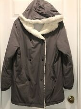 "Women's Hooded Coat ""BY TOGETHER "" Size Large Med Gray"