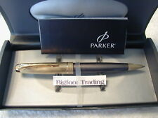 PARKER 100 SMOKE BRONZE Ball point Pen Medium NEW Discontinued Finish
