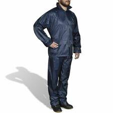 Adults Waterproof Suit Jacket & Trousers Packaway Rain Set Womens Mens Ladies LG