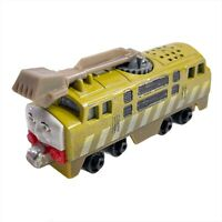 2012 Thomas & Friends Diesel 10 Mattel Take-n-Play Talking Train Engine Works!