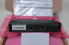 NIB Emerson Vertiv Secure KVM DVI Dual Monitor Switch SV Cybex Belkin Avocent