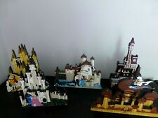 Shelia's Collectibles Lot Of 5 Disney's Fantasy Castles Entire Collection
