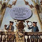 Roman:12 Flute Sonatas 6-12 [Dan Laurin; Paradiso Musicale] [BIS; BIS2155], Para