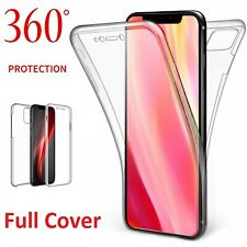 360° Full Body Protection Gel Silicone Case Cover For Apple iPhone 11 8 7 6 X XR