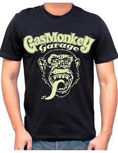 Gas Monkey Garage Mens T Shirt Funny Jokes Slogans Cotton Novelty Gift T Shirt