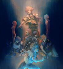 POSTER KINGDOM HEARTS 2 3 BIRTH BY SLEEP 2.5 2.8 3 AQUA SORA ROXAS GAME PS3 #18