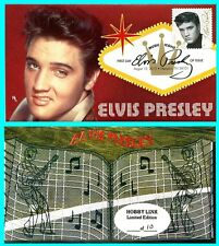 Elvis Presley First Day Cover with Color Cancel Type 1