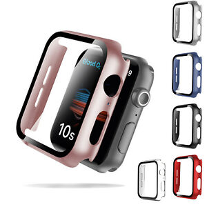 For iWatch Apple Watch Series 4/5/6/SE Full Screen Protector Hard Cover Cases