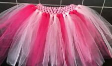 Pale And Bright Pink Princess, Stripes, Pig Handmade Tutu Skirt Age 1-10 Years