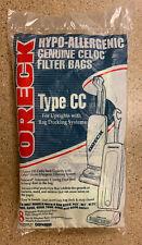 Genuine Oreck Type CC Hypo-Allergenic Filter Bags XL21 (8)