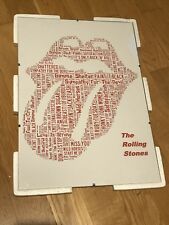 Rolling stones - A3 Canvas