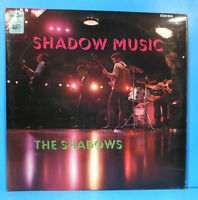 THE SHADOWS SHADOW MUSIC LP 1966 UK ORIGINAL PRESS GREAT CONDITION! VG++/VG+!!