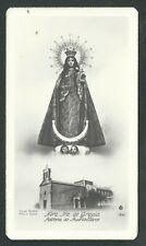 Estampa antigua Virgen de la Gracia andachtsbild santino holy card santini