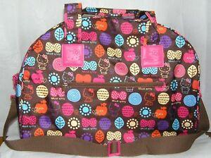 Hello Kitty OVERNIGHT BAG TOTE DUFFEL NWT