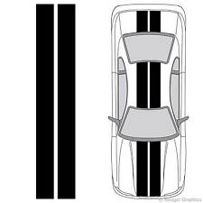 """Universal 3M Vinyl 10"""" Solid Racing Stripes any Car or Truck Decals 10in 10 inch"""