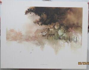 Michael Atkinson Lithographs: Elm Hollow