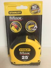 Max Tape 25Ft Stanley Tools Tape Measures and Tape Rules 33-279 076174332797