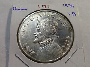 W71 Panama 1934 Balboa