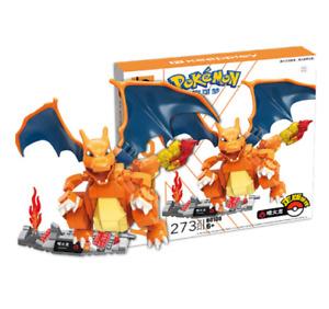 Enlighten Building Blocks Pokémon  Series Charizard Fits Logo Mega Construx Toys