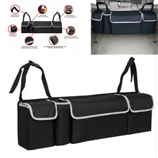 Oxford Car Trunk Organizer Backseat Storage Bag Seat Back Interior Accessory New