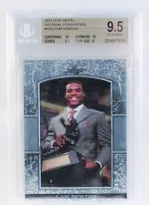 2011 LEAF METAL NATIONAL CONVENTION CAM NEWTON ROOKIE CARD BGS 9.5 106/300