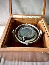 Bussola Nautica Antica- Vintage Compass Correction Box For London Yacht Centre