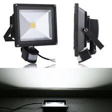 50W LED Fluter Flutlicht Scheinwerfer Strahler Schwarz Bewegungsmelder Kaltweiß