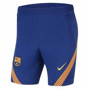 Nike FC Barcelona 2020 - 2021 Strike Training Soccer Shorts Navy Blue