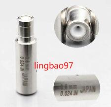 Wire Cut Discharge Edm Machine Parts Ceramic Electrode Guide 015 30mmx8mmx30mm