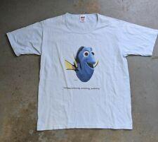 Vintage Finding Nemo Just Keep Swimming Dory Disney Pixar T-shirt Women's Large