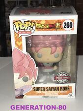 FUNKO POP SUPER SAIYAN ROSE 260 SPECIAL EDITION DRAGON BALL SUPER MANGA GOKU