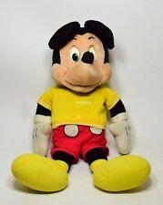 """Raro """"Tallking Mickey Mouse"""" Topolino parlante Disney 63cm Vintage Toy'70-001G"""