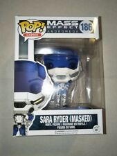 Funko pop vinyl figure BNIB #186 Sara Ryder Masked Mass Effect Andromeda MX