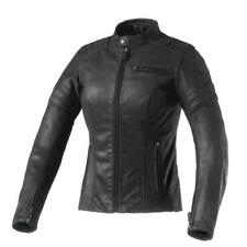 Giacca Moto Donna Clover Bullet Pro Lady in Pelle Nero 1802-n Taglia 46