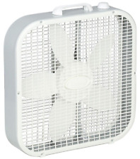 Box Fan Lasko 20 In Portable 3 Speed Floor Cooling Electric Quiet Room Air Flow