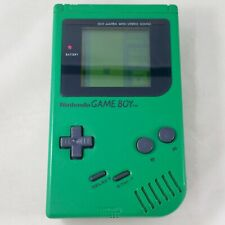 1989 Nintendo Og. Gameboy DMG-01 - RARE Green Play it Loud ! - Tested, Working