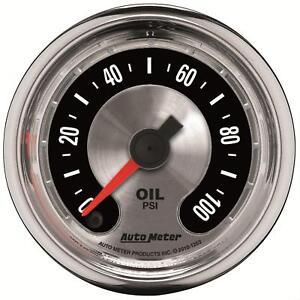 AutoMeter 1219 American Muscle Analog Gauge Oil Pressure 2 1/16 in.