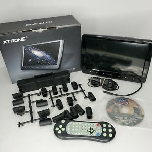 "Xtrons HD101 10.1"" HD Car Headrest Monitor DVD Player Game HDMI/USB/SD/AV"