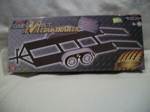 Motor Max 1:24 Scale DIECAST METAL TRAILER No. 76001 Collector's Edition New