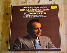 DG 2707127 Maurizio Pollini/Abbado/Brahms Piano Ctos/2-LP Deluxe Box 2nd Set