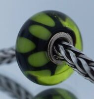 Authentic Trollbeads Retired Green Shade 61319 New Glass Charm Bead