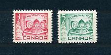 CANADA 1967 CHRISTMAS SG618/619 BLOCKS OF 4 MNH