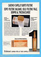 QUATTROR989-PUBBLICITA'/ADVERTISING-1989- FOLTENE