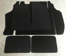 Autoteppich Fußmatten Kofferraum Set für Opel Kadett C Coupe schwarz 5teilg Neu