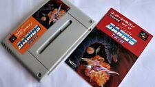DARIUS TWIN Super Famicom SNES SFC GAME Cartridge and Manual set tested-a511-