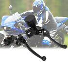 7/8'' Motorcycle Bike Hydraulic Brake Master Cylinder Reservoir Clutch Lever AU