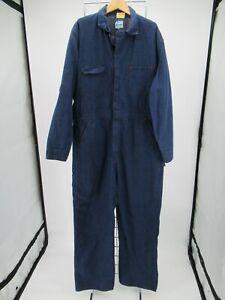 L8202 VTG Men's Wrangler Denim Coveralls Size 44 Long