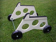 Startwagen für Elektrosegler,  Räder 15 cm mit Gleitlager, bewährt & NEU!