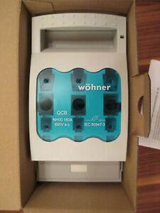 Wöhner NH-Sicherungs-Lasttrenner Gr. 00  160A