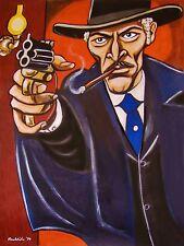 RETURN OF SABATA PRINT poster lee van cleef western movie derringer cowboy hat